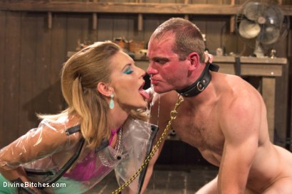Photo number 1 from Latex Cock Tease shot for Divine Bitches on Kink.com. Featuring Mona Wales and Jonah Marx in hardcore BDSM & Fetish porn.