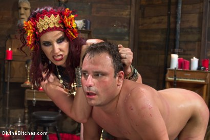 Photo number 13 from Sex Magick: BRUTAL and EXTREME sounding! shot for Divine Bitches on Kink.com. Featuring Maitresse Madeline Marlowe  and Marcelo in hardcore BDSM & Fetish porn.