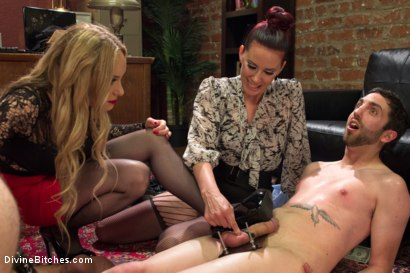Photo number 7 from Corporate Scum CFNM Humiliation Take Over: Part 2 shot for Divine Bitches on Kink.com. Featuring Aiden Starr, Maitresse Madeline Marlowe , Jonah Marx, John Jammen and Jay Wimp in hardcore BDSM & Fetish porn.