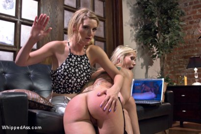 Photo number 1 from Squirting Stepmom Punishment shot for Whipped Ass on Kink.com. Featuring Mona Wales and Simone Sonay in hardcore BDSM & Fetish porn.