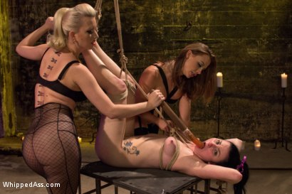 Photo number 14 from Nasty Habits shot for Whipped Ass on Kink.com. Featuring Cherry Torn, Chanel Preston and Veruca James in hardcore BDSM & Fetish porn.