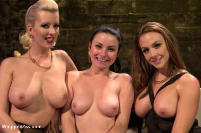 Photo number 7 from Nasty Habits shot for Whipped Ass on Kink.com. Featuring Cherry Torn, Chanel Preston and Veruca James in hardcore BDSM & Fetish porn.