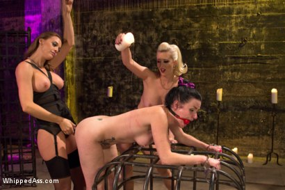 Photo number 9 from Nasty Habits shot for Whipped Ass on Kink.com. Featuring Cherry Torn, Chanel Preston and Veruca James in hardcore BDSM & Fetish porn.