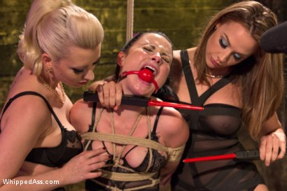Photo number 11 from Nasty Habits shot for Whipped Ass on Kink.com. Featuring Cherry Torn, Chanel Preston and Veruca James in hardcore BDSM & Fetish porn.