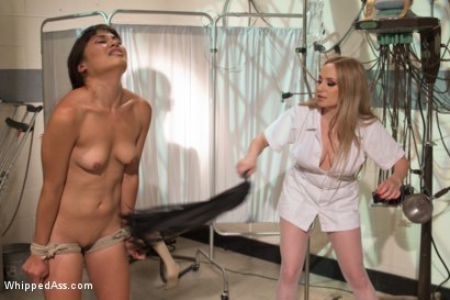 Photo number 18 from Perverted, Inverted, and Begging for More shot for Whipped Ass on Kink.com. Featuring Aiden Starr and Milcah Halili in hardcore BDSM & Fetish porn.
