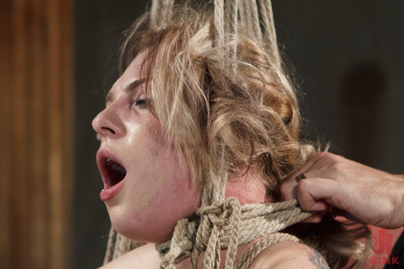 Photo number 11 from Blonde Hottie Takes Severe Torment in Brutal Bondage shot for Sadistic Rope on Kink.com. Featuring Dahlia Sky in hardcore BDSM & Fetish porn.