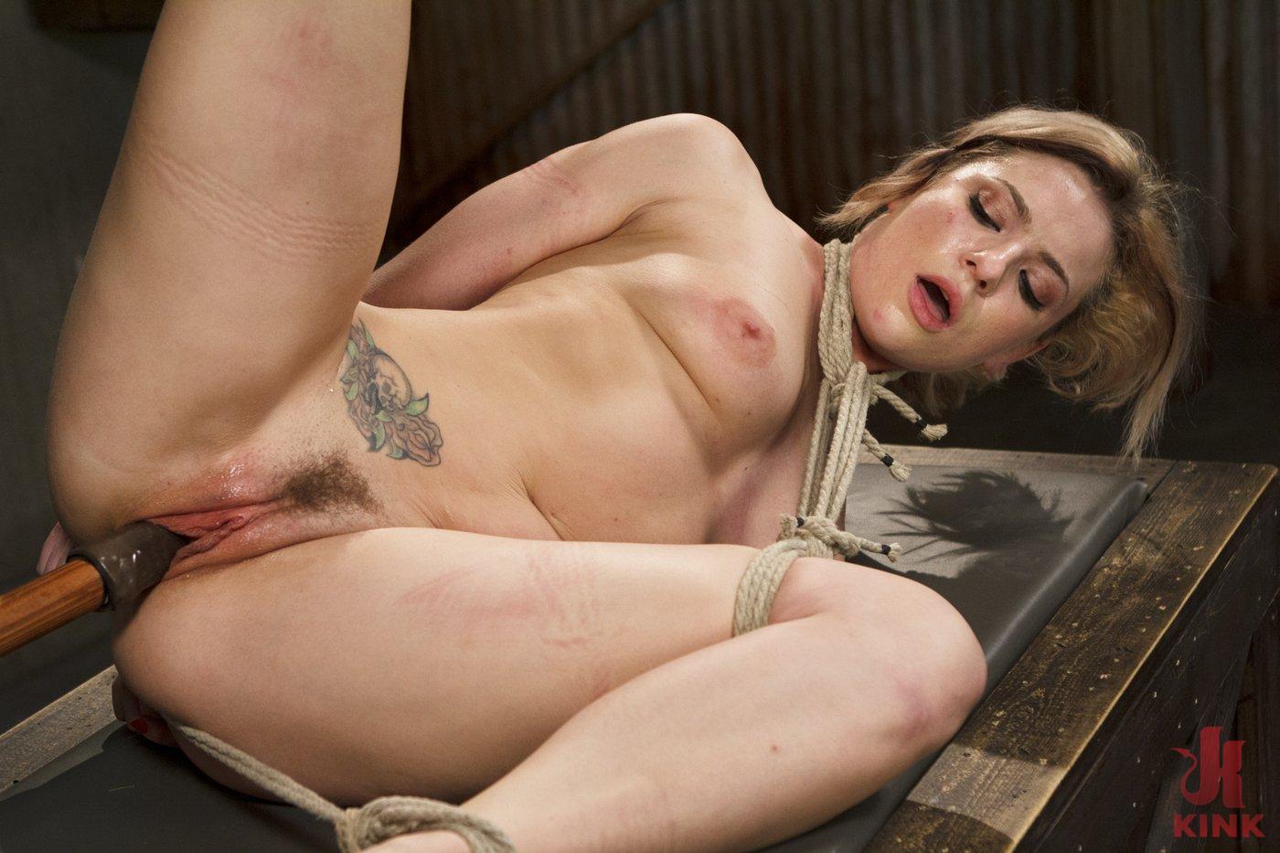 Photo number 8 from Blonde Hottie Takes Severe Torment in Brutal Bondage shot for Sadistic Rope on Kink.com. Featuring Dahlia Sky in hardcore BDSM & Fetish porn.