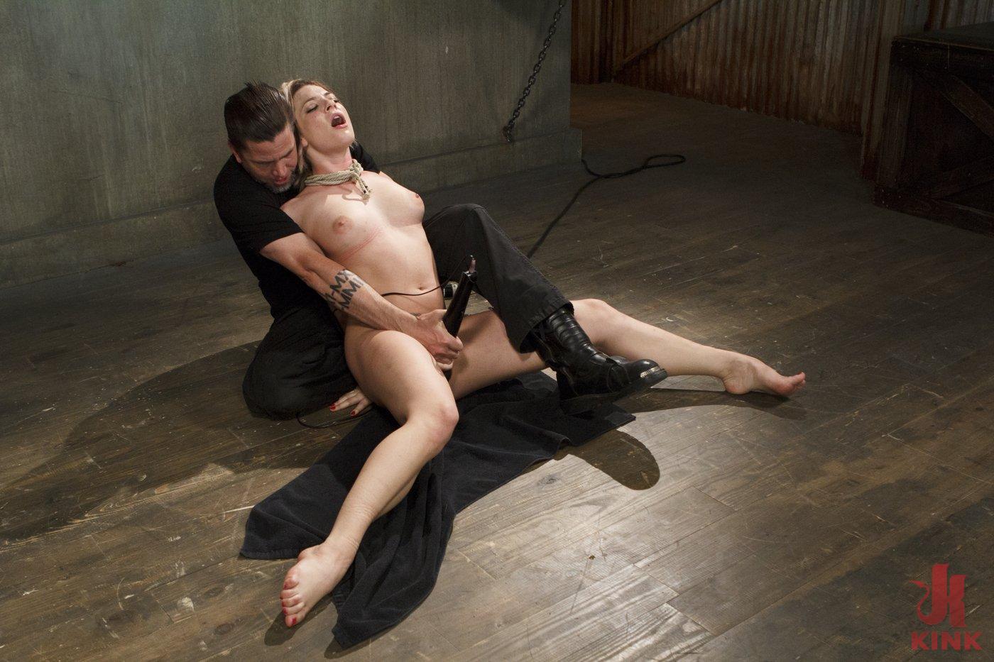Photo number 12 from Blonde Hottie Takes Severe Torment in Brutal Bondage shot for Sadistic Rope on Kink.com. Featuring Dahlia Sky in hardcore BDSM & Fetish porn.