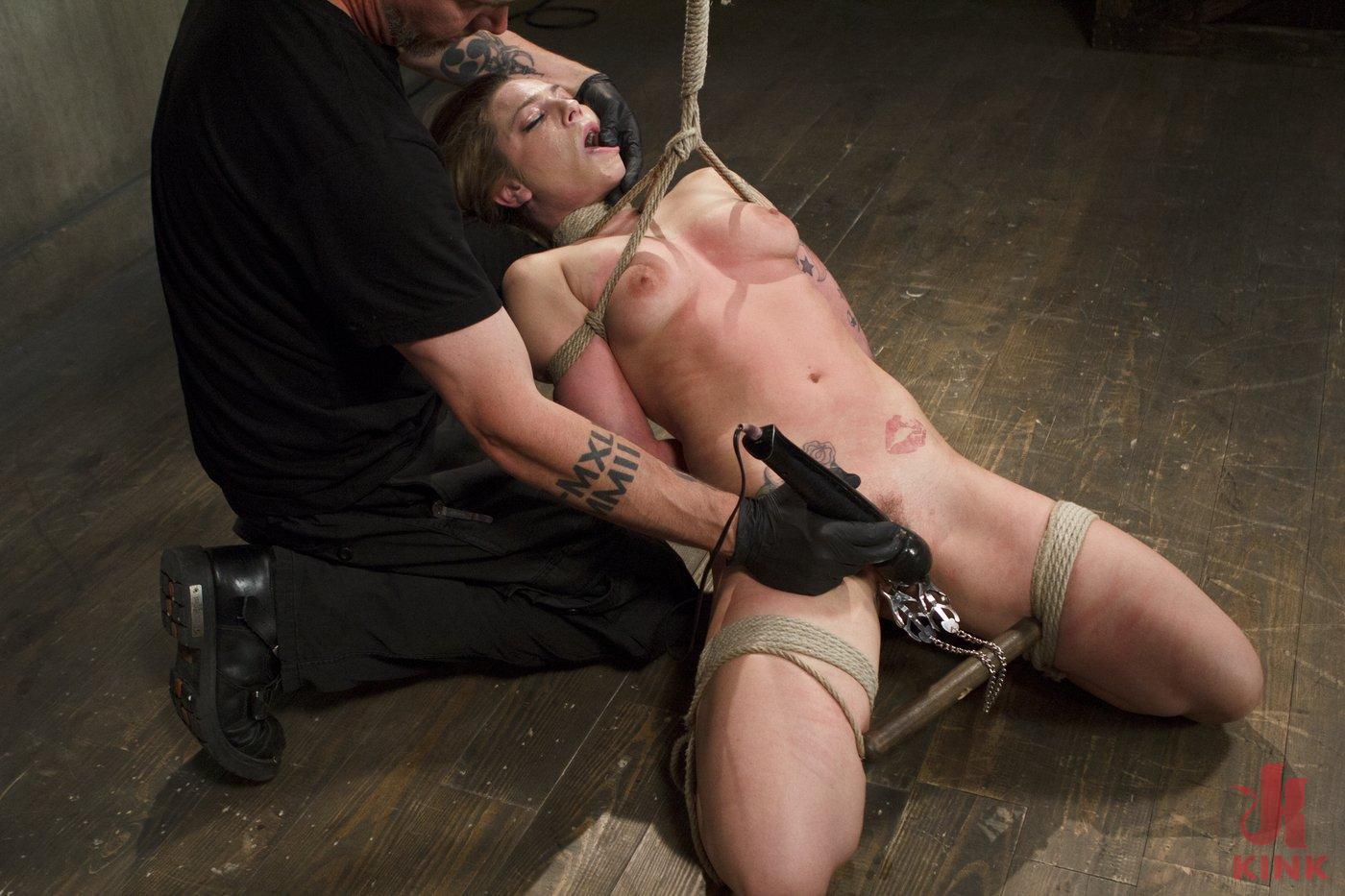 Photo number 3 from Blonde Hottie Takes Severe Torment in Brutal Bondage shot for Sadistic Rope on Kink.com. Featuring Dahlia Sky in hardcore BDSM & Fetish porn.