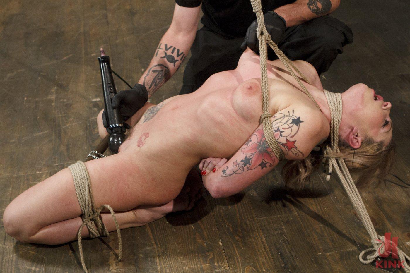 Photo number 4 from Blonde Hottie Takes Severe Torment in Brutal Bondage shot for Sadistic Rope on Kink.com. Featuring Dahlia Sky in hardcore BDSM & Fetish porn.