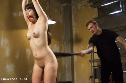 Photo number 2 from Tied, Fisted, and Fucked shot for Brutal Sessions on Kink.com. Featuring Milcah Halili and Christian Wilde in hardcore BDSM & Fetish porn.