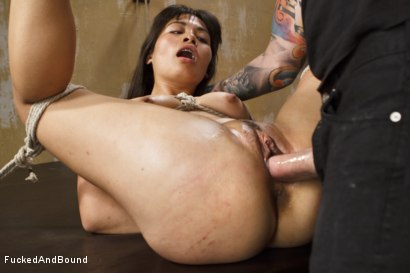 Photo number 4 from Tied, Fisted, and Fucked shot for Brutal Sessions on Kink.com. Featuring Milcah Halili and Christian Wilde in hardcore BDSM & Fetish porn.