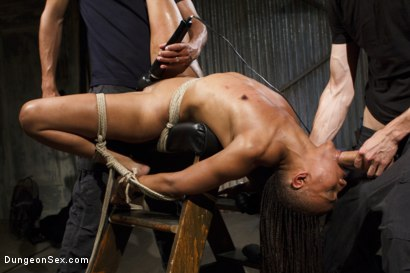 Photo number 9 from Double Vag Penetration with 2 Massive Cocks shot for Dungeon Sex on Kink.com. Featuring Mickey Mod, Nikki Darling and Owen Gray in hardcore BDSM & Fetish porn.