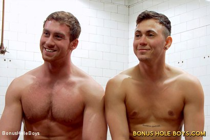 Photo number 3 from FTM Bathhouse Cruising with Connor Maguire and Gino Genet shot for Bonus Hole Boys on Kink.com. Featuring Connor Maguire and Gino Genet in hardcore BDSM & Fetish porn.
