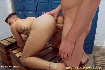 Photo number 21 from FTM Bathhouse Cruising with Connor Maguire and Gino Genet shot for Bonus Hole Boys on Kink.com. Featuring Connor Maguire and Gino Genet in hardcore BDSM & Fetish porn.