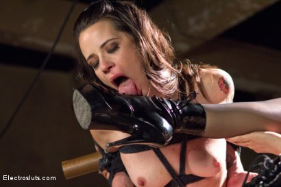 Photo number 6 from Hardcore Latex Painslut Electrofuck shot for Electro Sluts on Kink.com. Featuring Freya French and Chanel Preston in hardcore BDSM & Fetish porn.