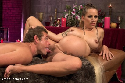 Photo number 11 from Fertility Goddess shot for Divine Bitches on Kink.com. Featuring John Jammen and Bella Wilde in hardcore BDSM & Fetish porn.
