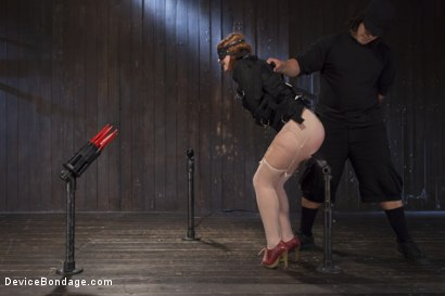 Photo number 15 from Hot Red Head Gets Tormented and Ass Fucked shot for Device Bondage on Kink.com. Featuring Claire Robbins and Orlando in hardcore BDSM & Fetish porn.