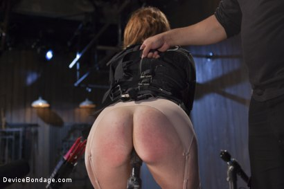 Photo number 1 from Hot Red Head Gets Tormented and Ass Fucked shot for Device Bondage on Kink.com. Featuring Claire Robbins and Orlando in hardcore BDSM & Fetish porn.