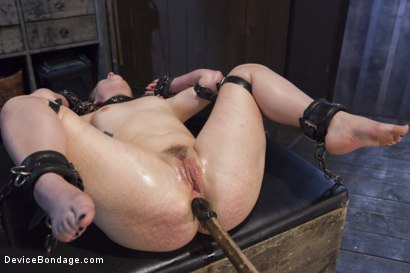 Photo number 11 from Hot Red Head Gets Tormented and Ass Fucked shot for Device Bondage on Kink.com. Featuring Claire Robbins and Orlando in hardcore BDSM & Fetish porn.