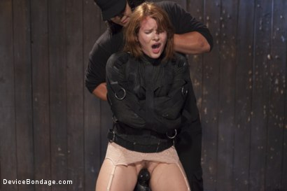 Photo number 13 from Hot Red Head Gets Tormented and Ass Fucked shot for Device Bondage on Kink.com. Featuring Claire Robbins and Orlando in hardcore BDSM & Fetish porn.