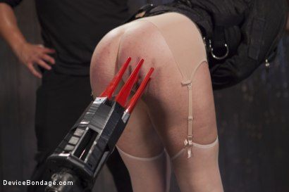 Photo number 3 from Hot Red Head Gets Tormented and Ass Fucked shot for Device Bondage on Kink.com. Featuring Claire Robbins and Orlando in hardcore BDSM & Fetish porn.