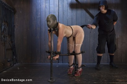 Photo number 4 from Hot Red Head Gets Tormented and Ass Fucked shot for Device Bondage on Kink.com. Featuring Claire Robbins and Orlando in hardcore BDSM & Fetish porn.