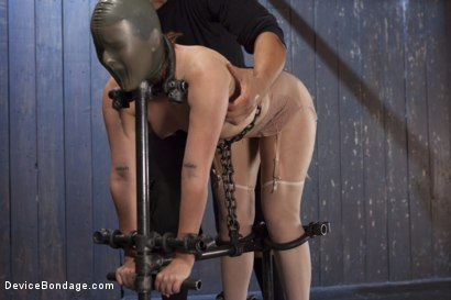 Photo number 5 from Hot Red Head Gets Tormented and Ass Fucked shot for Device Bondage on Kink.com. Featuring Claire Robbins and Orlando in hardcore BDSM & Fetish porn.