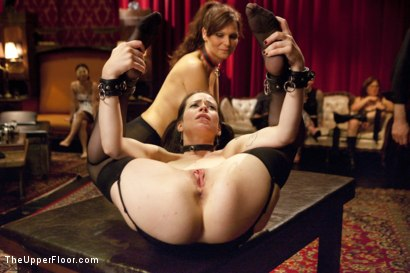 Photo number 10 from Anal Virgin Trained to Take It by Hot MILF Slave shot for The Upper Floor on Kink.com. Featuring Bill Bailey, Syren de Mer and Freya French in hardcore BDSM & Fetish porn.