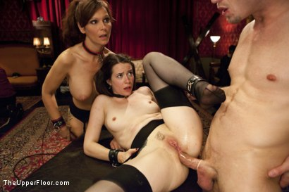 Photo number 13 from Anal Virgin Trained to Take It by Hot MILF Slave shot for The Upper Floor on Kink.com. Featuring Bill Bailey, Syren de Mer and Freya French in hardcore BDSM & Fetish porn.