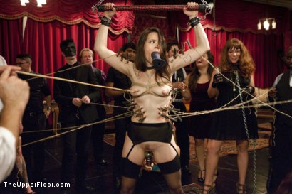 Photo number 3 from Anal Virgin Trained to Take It by Hot MILF Slave shot for The Upper Floor on Kink.com. Featuring Bill Bailey, Syren de Mer and Freya French in hardcore BDSM & Fetish porn.