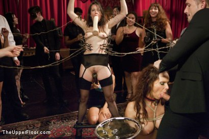 Photo number 1 from Anal Virgin Trained to Take It by Hot MILF Slave shot for The Upper Floor on Kink.com. Featuring Bill Bailey, Syren de Mer and Freya French in hardcore BDSM & Fetish porn.