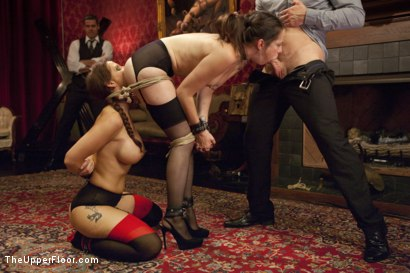Photo number 4 from Anal Virgin Trained to Take It by Hot MILF Slave shot for The Upper Floor on Kink.com. Featuring Bill Bailey, Syren de Mer and Freya French in hardcore BDSM & Fetish porn.