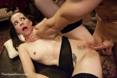 Photo number 9 from Anal Virgin Trained to Take It by Hot MILF Slave shot for The Upper Floor on Kink.com. Featuring Bill Bailey, Syren de Mer and Freya French in hardcore BDSM & Fetish porn.