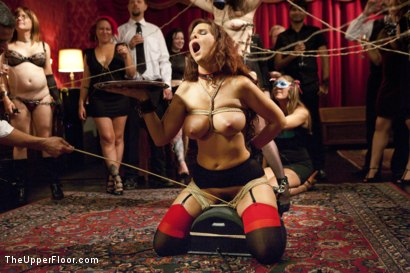 Photo number 2 from Anal Virgin Trained to Take It by Hot MILF Slave shot for The Upper Floor on Kink.com. Featuring Bill Bailey, Syren de Mer and Freya French in hardcore BDSM & Fetish porn.