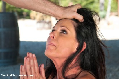 Photo number 2 from The Stranded Submissive shot for Sex And Submission on Kink.com. Featuring James Deen and India Summer in hardcore BDSM & Fetish porn.