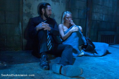Photo number 2 from Rescued for Anal Services shot for Sex And Submission on Kink.com. Featuring Dakota Skye and Tommy Pistol in hardcore BDSM & Fetish porn.