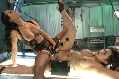 Photo number 14 from Deep Electro Examination shot for Electro Sluts on Kink.com. Featuring Isis Love and Mia Little in hardcore BDSM & Fetish porn.