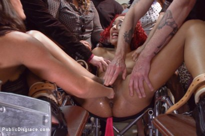 Photo number 2 from Medical mayhem! Flexible pain slut plays doctor. shot for Public Disgrace on Kink.com. Featuring Daisy Ducati, Ariel X and Astral Dust in hardcore BDSM & Fetish porn.