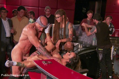 Photo number 15 from Nadia Styles's epic return to Public Disgrace shot for Public Disgrace on Kink.com. Featuring Nadia Styles and Astral Dust in hardcore BDSM & Fetish porn.