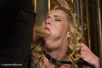 Photo number 5 from Caged Sex Slave shot for Brutal Sessions on Kink.com. Featuring Jeze Belle and Owen Gray in hardcore BDSM & Fetish porn.