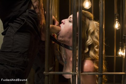 Photo number 3 from Caged Sex Slave shot for Brutal Sessions on Kink.com. Featuring Jeze Belle and Owen Gray in hardcore BDSM & Fetish porn.