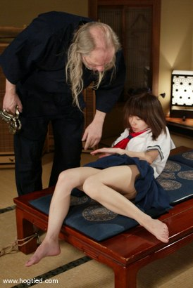 Photo number 3 from Osada Steve and Misa shot for Hogtied on Kink.com. Featuring Osada Steve and Misa in hardcore BDSM & Fetish porn.