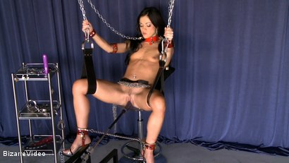 Photo number 3 from ALYSSA IN CHAINS  shot for Bizarre Video on Kink.com. Featuring  in hardcore BDSM & Fetish porn.