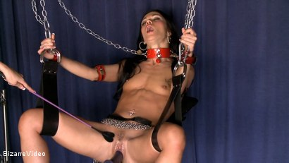 Photo number 4 from ALYSSA IN CHAINS  shot for Bizarre Video on Kink.com. Featuring  in hardcore BDSM & Fetish porn.