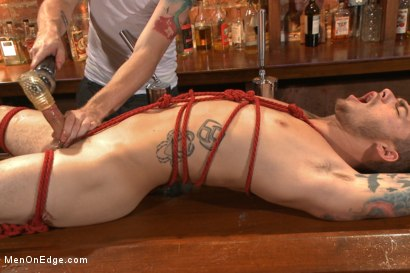 Photo number 10 from Cocky punk relentlessly edged and machine fucked against his will shot for Men On Edge on Kink.com. Featuring Trevor Spade in hardcore BDSM & Fetish porn.