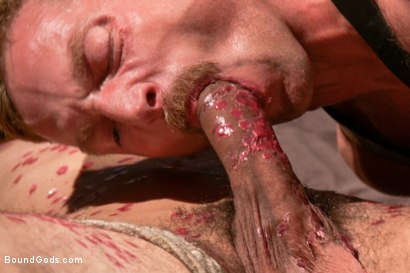 Photo number 12 from Adam and Dylan - Real Life Couple Series  shot for Bound Gods on Kink.com. Featuring Adam Herst and Dylan Strokes in hardcore BDSM & Fetish porn.