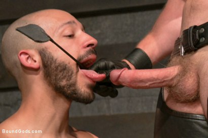 Photo number 4 from Adam and Dylan - Real Life Couple Series  shot for Bound Gods on Kink.com. Featuring Adam Herst and Dylan Strokes in hardcore BDSM & Fetish porn.