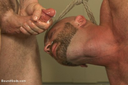 Photo number 14 from Bondage Boot Camp Workout shot for Bound Gods on Kink.com. Featuring Tatum and Trenton Ducati in hardcore BDSM & Fetish porn.