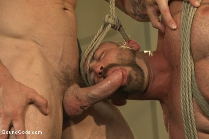 Photo number 10 from Bondage Boot Camp Workout shot for Bound Gods on Kink.com. Featuring Tatum and Trenton Ducati in hardcore BDSM & Fetish porn.